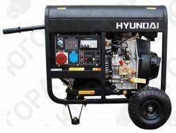 дизельгенератор hyundai dhy6000le